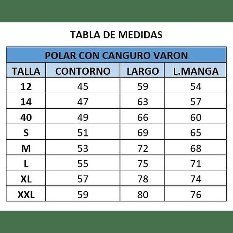 POLAR CANGURO DE VARON CC. SAN PEDRO