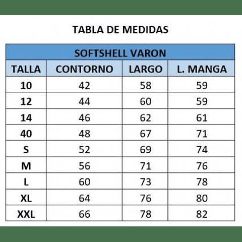 SOFTSHELL DE VARON C. LOS ACACIOS