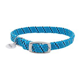 Collar reflectivo azul neon