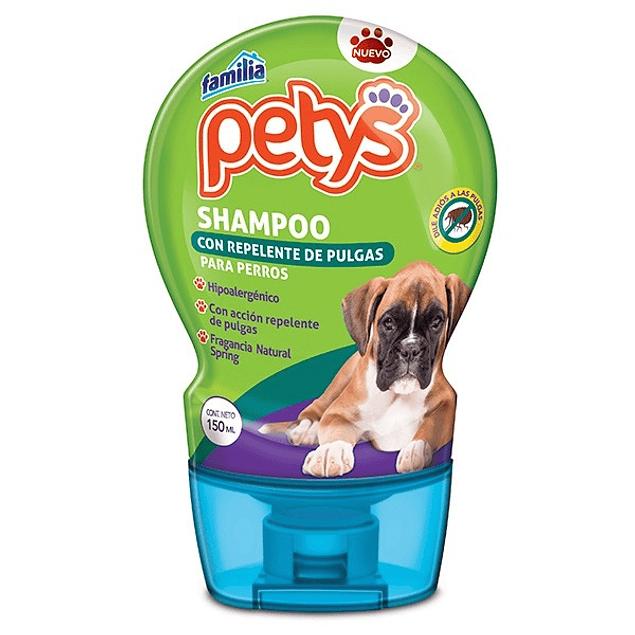 Shampoo Petys repelente antipulgas 150 ml