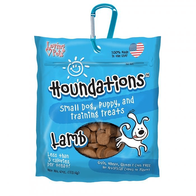 Houndations dog galletas cordero