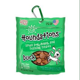 Houndations dog galletas pato