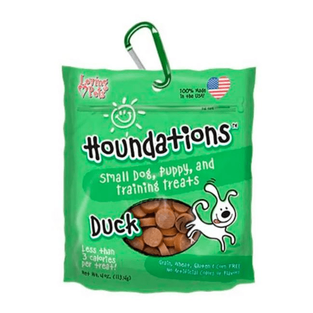 Houndations dog galletas pato