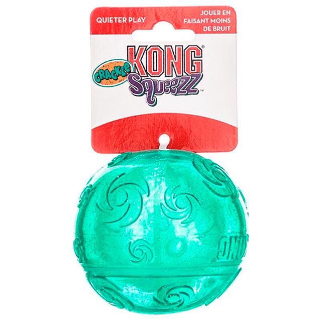Pelota Kong Squeezz Crackle Medium