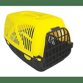 Guacal plástico amarillo