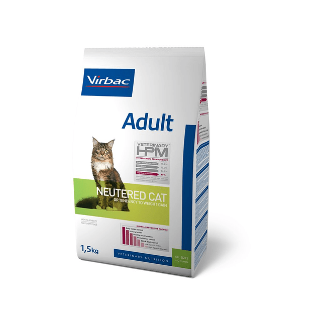 Virbac HPM Adult Neutered Cat