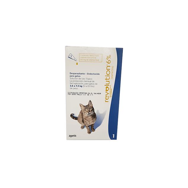 Revolution azul - Gatos 2.6 a 7.5 kg