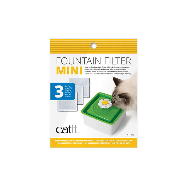 Filtros fuente Mini Catit