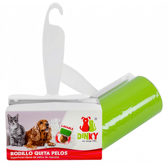 Rodillo quitapelos lavable Dinky
