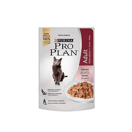 Pro Plan gato adulto salmón alimento húmedo