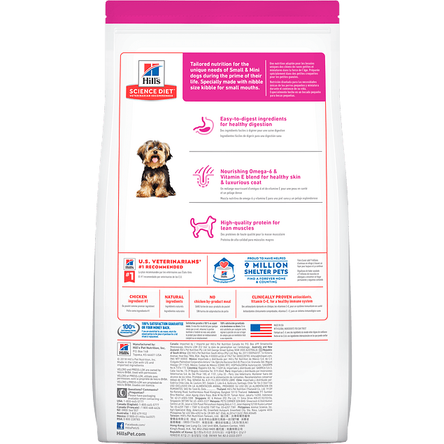 Hills C Adulto Small Paws