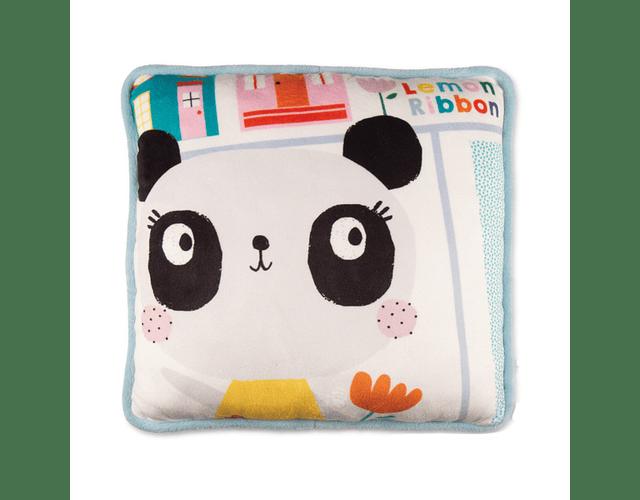 Panda | Cojín Cuadrado