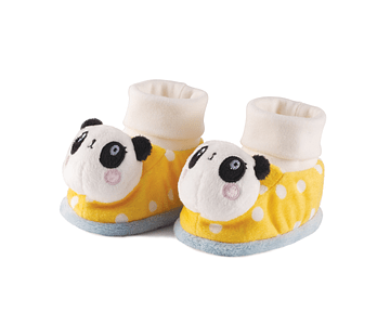 Panda | Slippers with Rattle