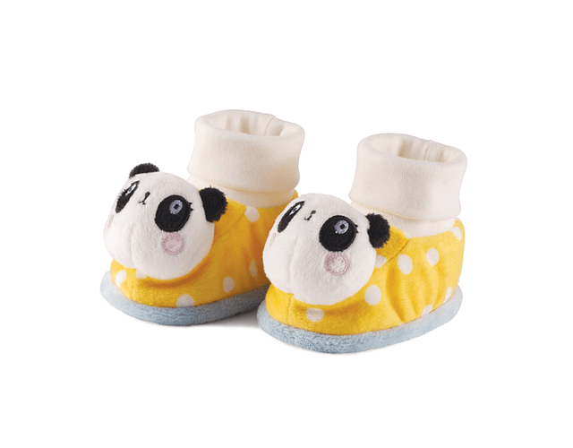 Panda | Pantufas com Guizo