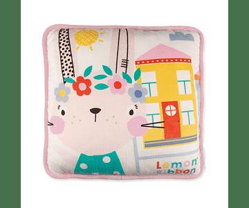 Rabbit | Square Cushion