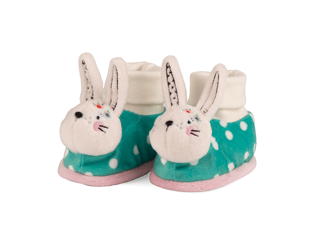 Rabbit | Slippers with Rattle