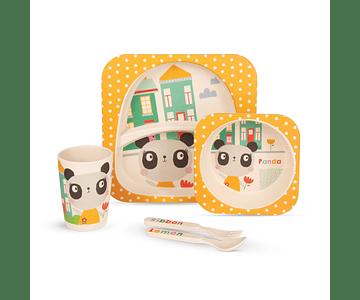 Panda | Set de cena infantil