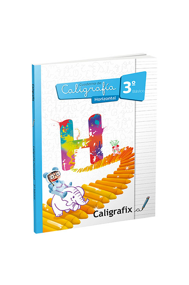 CALIGRAFIA HORIZONTAL 3 - CALIGRAFIX