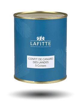 Confit de Pato, 5 piezas - Lafitte
