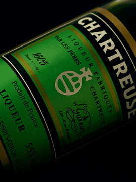 Chartreuse - Licor Verde, 55%