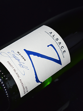 Pinot Blanc Auxerrois - Maison Yvan Zeyssolf, 2018
