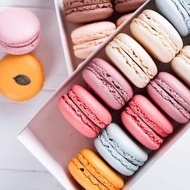 Caja de Macarons - 15 uni.