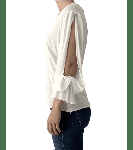Blusón blanco Cavalli