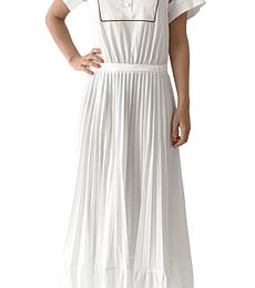 Vestido camisero blanco Cavalli