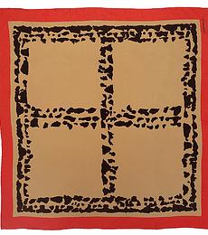 Pañuelo seda animal print