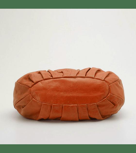 Cartera de Cuero blando color Caramelo