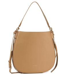 Cartera 100% Cuero Color Camel