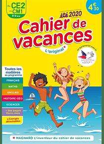 Cahier de vacances du CE2 au CM1 - 8/9 ans