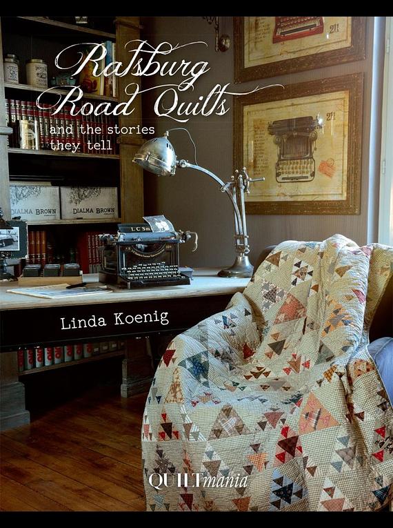 Quilts de la Route de Ratsburg / Road Quilts, de Linda Koenig