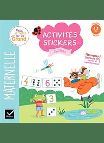Activités Stickers - Maternelle Moyenne Section - 4/5 ans : Les chiffres