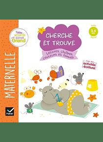 Cherche et trouve - Maternelle Petite Section - 3/4 ans : Lettres, chiffres, couleurs et formes