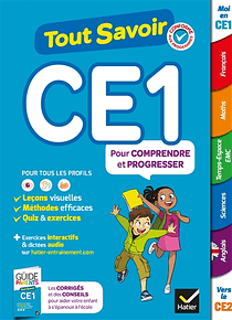Tout savoir - CE1 - 7/8 ans : Toutes les matières