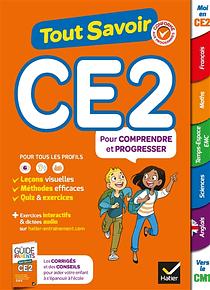 Tout savoir - CE2 - 8/9 ans  : Toutes les matières