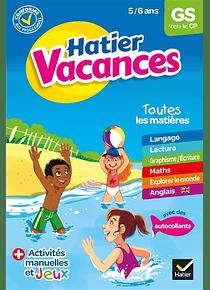 Cahier de vacances de la GS au CP - 5/6 ans