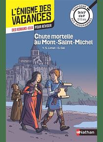 L'énigme des vacances - de la 5e à la 4e, 12-13 ans - Chute mortelle au Mont-Saint-Michel