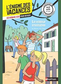 L'énigme des vacances - CP au CE1, 6-7 ans - Le voleur invisible