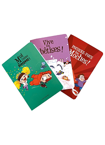 3 cahiers Mortelle Adèle, de Mr Tan