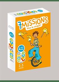 7 missions vive le cirque ! de Martin Desbat