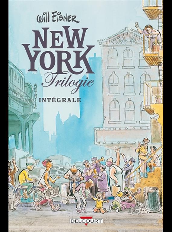 New York trilogie - intégrale, de Will Eisner
