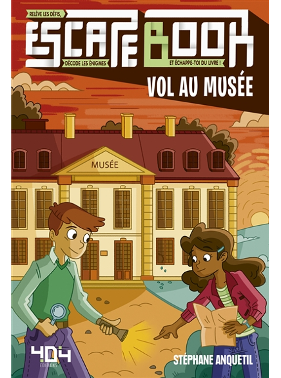 Escape book - Vol au musée, de Stéphane Anquetil et Maud Lienard