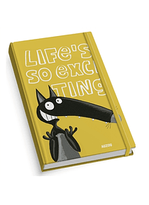 Life's so exciting - Carnet Loup