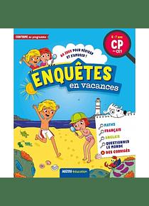Enquêtes en vacances : 80 jeux pour réviser et s'amuser ! du CP au CE1 - 6/7 ans