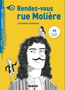 Rendez-vous rue Molière, de Catherine Grabowski - Niveau A1