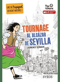 Tournage al Alcazar de Sevilla, de Laurence Schaack et Clément Rizzo