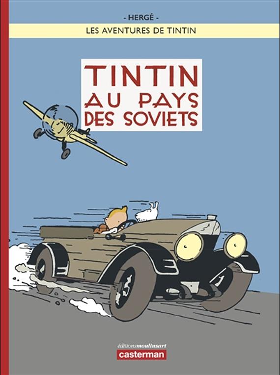 Les aventures de Tintin - Tintin au pays des soviets, de Hergé