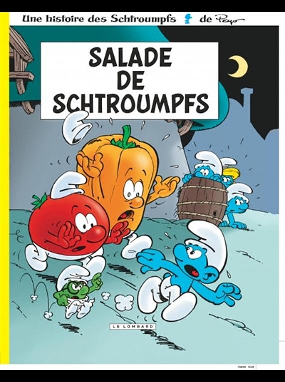 Salade de Schtroumpfs, de Peyo